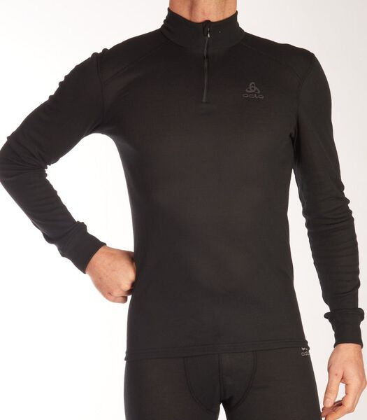 Shirt turtelneck half zip active