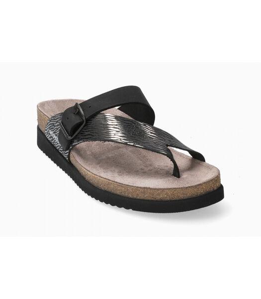 HELEN-Sandales cuir