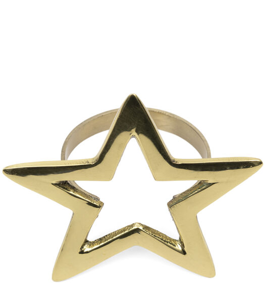 Sparkling Star Napkin Ring