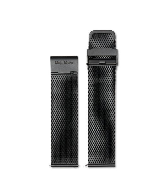 Horlogeband zwart MM40006