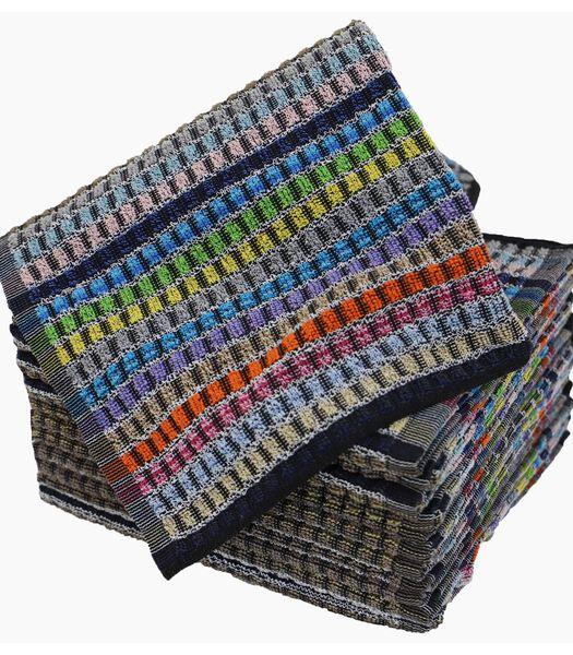 Lot de 12 torchons coton éponge MINEUR