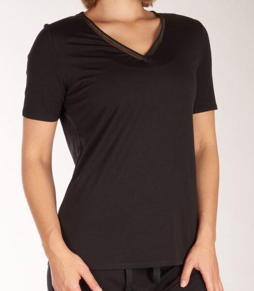 T-shirt v-hals climate control top d-46