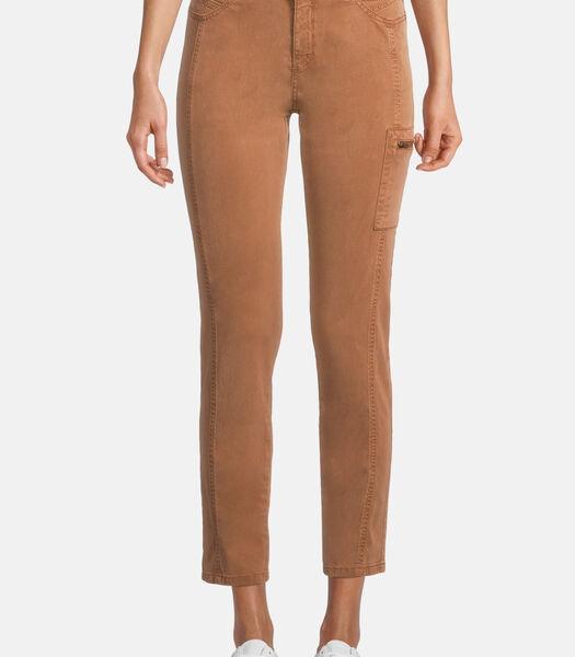 Pantalon casual à poches plaquées