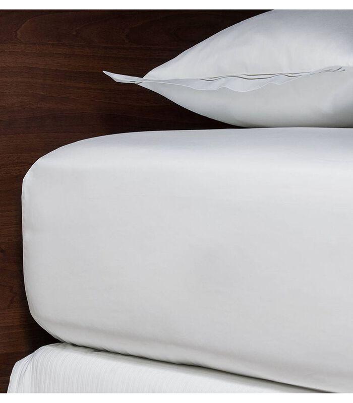 LUXE hoeslaken van Egyptisch katoensatijn image number 1