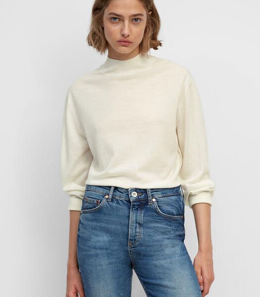Fijngebreide trui van exclusieve merinoswol