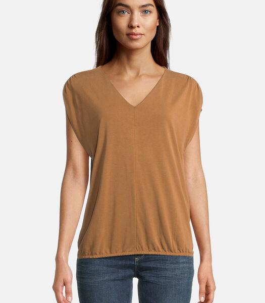 Casual shirt met elastiek