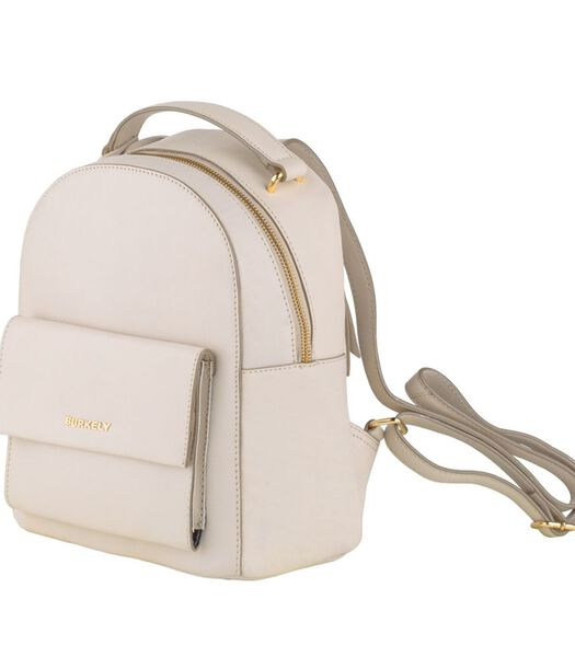 Parisian Paige Backpack off white