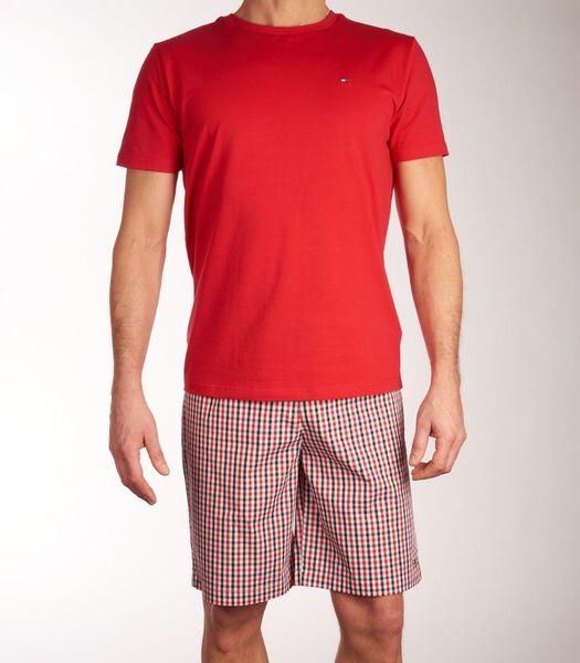 Pyjama korte broek  short woven set h-m
