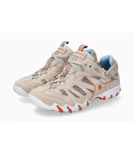 NIWA - Sneakers leer / textiel