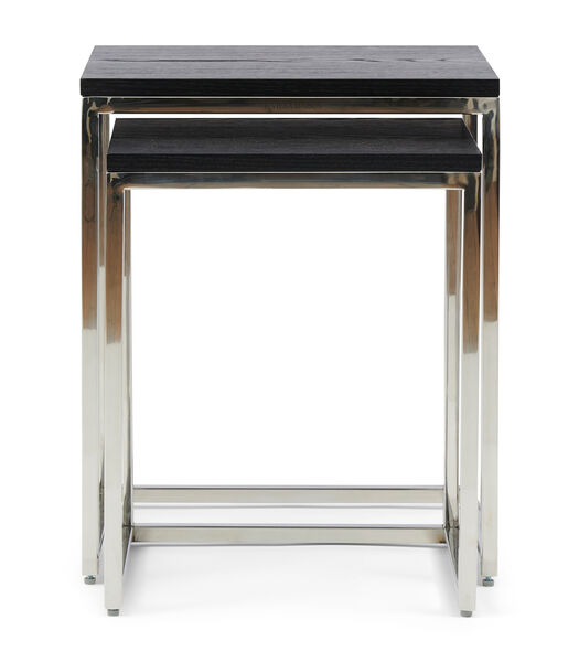 Nomad End Table S/2, black