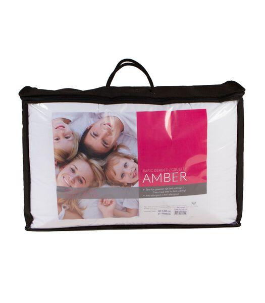 Synthetisch 4-seizoensdekbed Amber lits-jumeaux