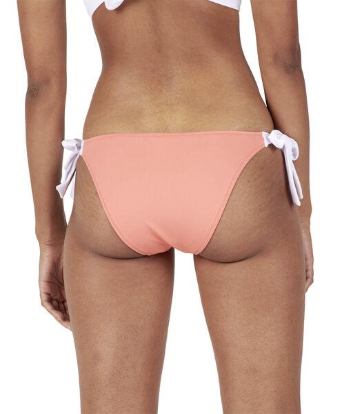 Bikini uni à nouettes MOLLY
