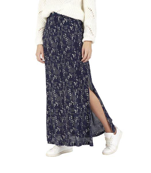 Lange rok met print UMANA