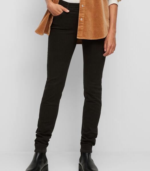 Jeans model ALVA slim van een katoenmix