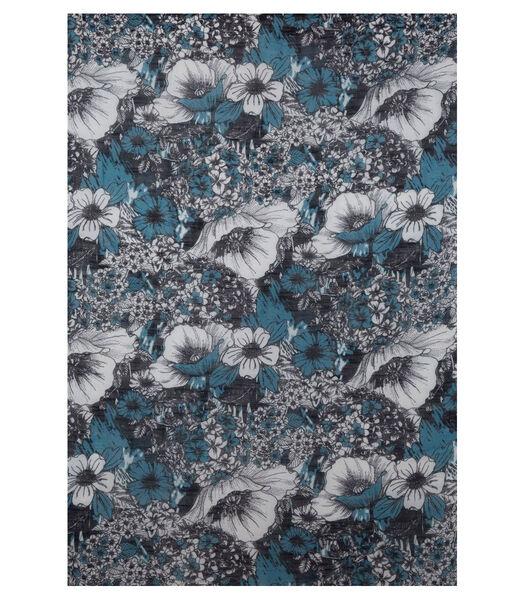 Sjaal katoen  bloemen