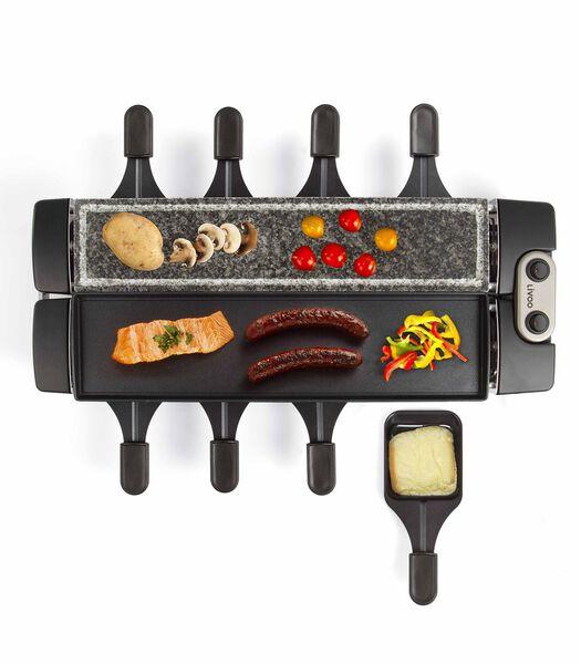 Raclettetoestel met grill