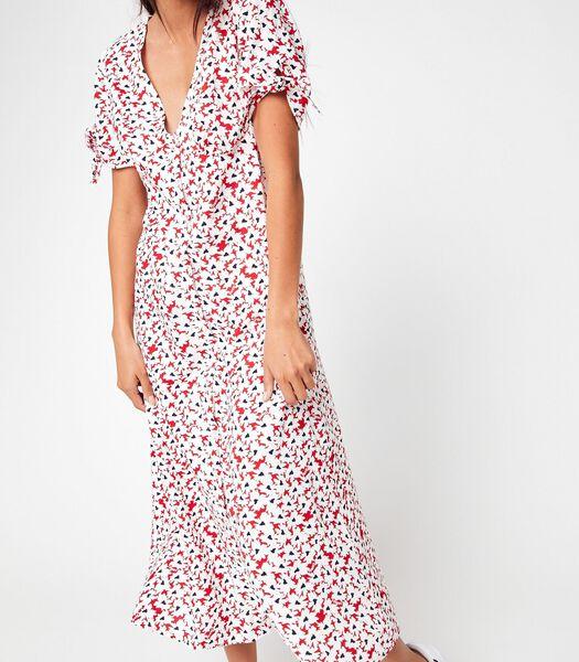 Maxi jurken Wit