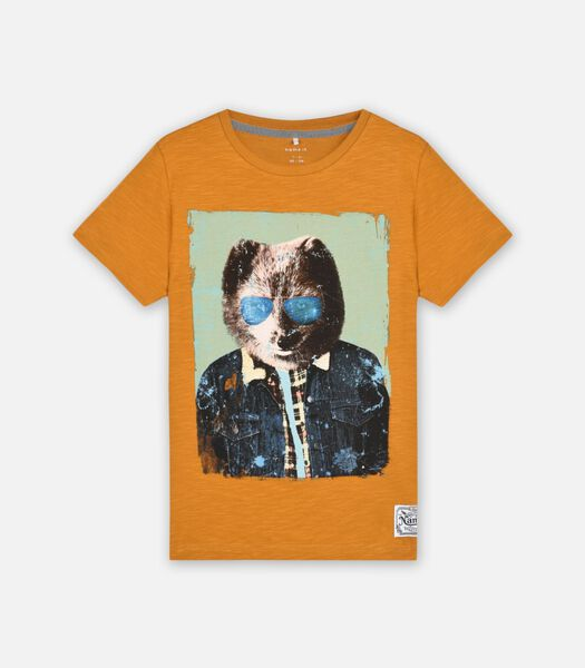 T-shirts Marron