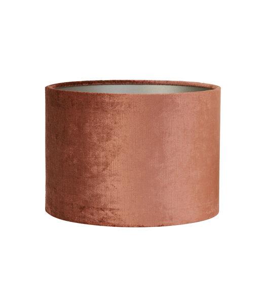 Abat-jour cylindrique Gemstone - Terra - Ø35x30 cm