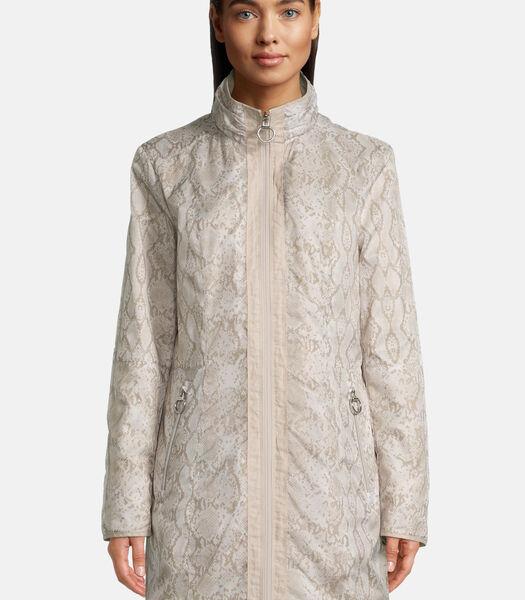 2-zijdige jas met motief