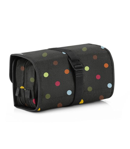 Wrapcosmetic - Toilettas - Dots Zwart