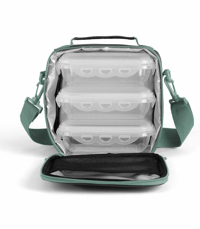Set isothermische maaltijdtasbox ,lunchbox image number 1