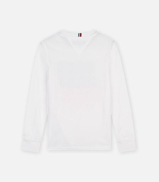 T-shirt lange mouwen Wit