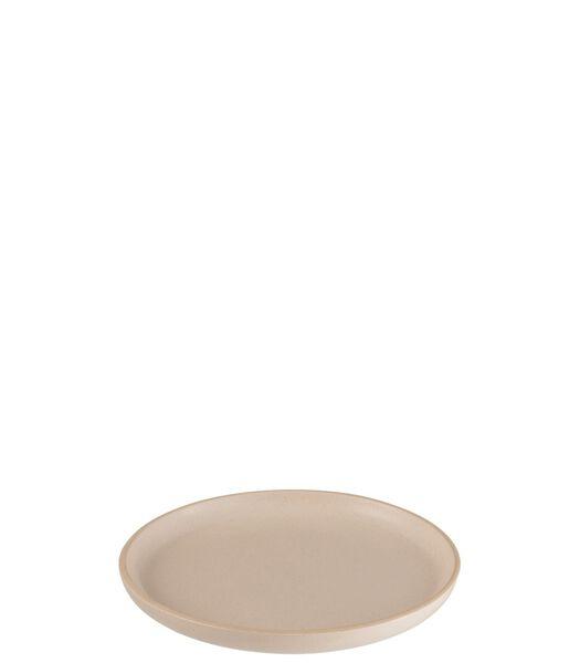 Assiette Marie Ceramique Creme Small