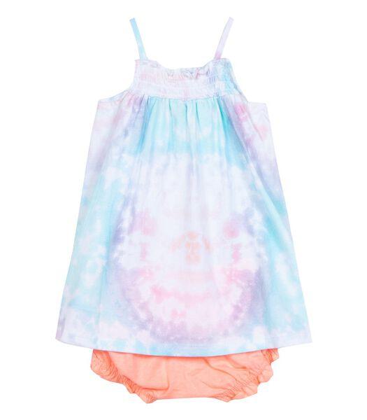 2-delige tie and dye jurk en slipje set