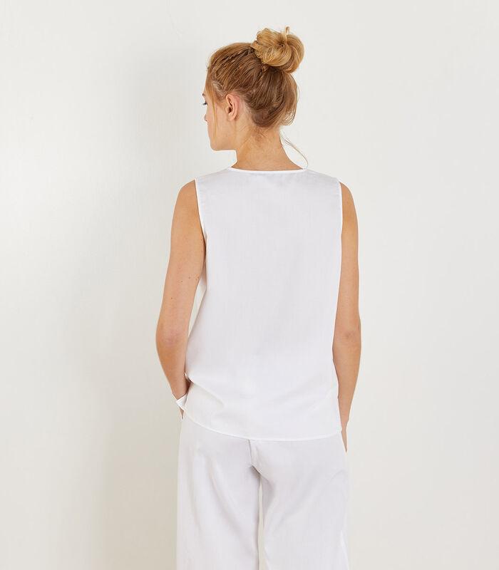 Ubud - Homewear Top zonder mouwen katoen image number 1