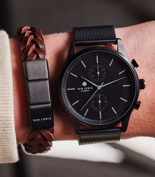 Metropolitan Horloge Noir SL90004