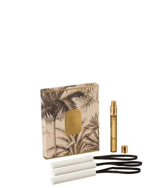Boite 3 Suspension Parfumee Tropical Jungle Ocre