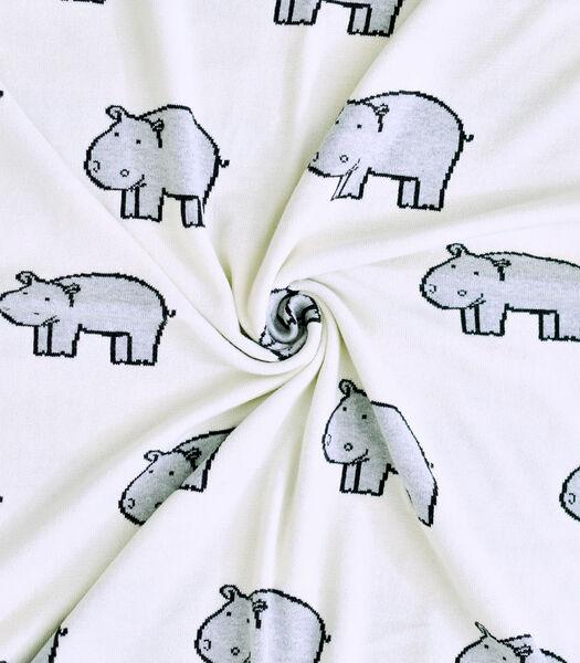 Plaid deken van biologisch katoen, HIPPO