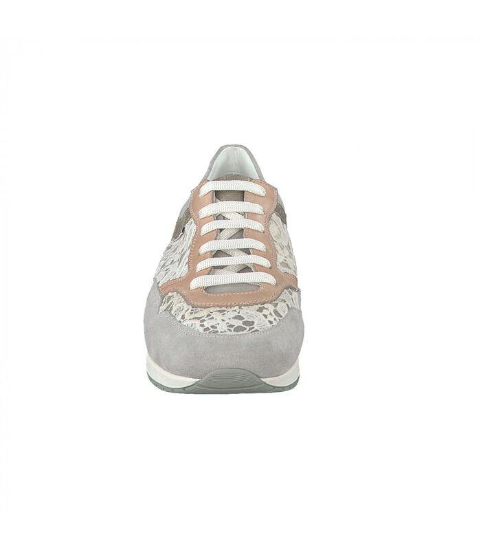 NAPOLIA-Sneakers leer image number 2