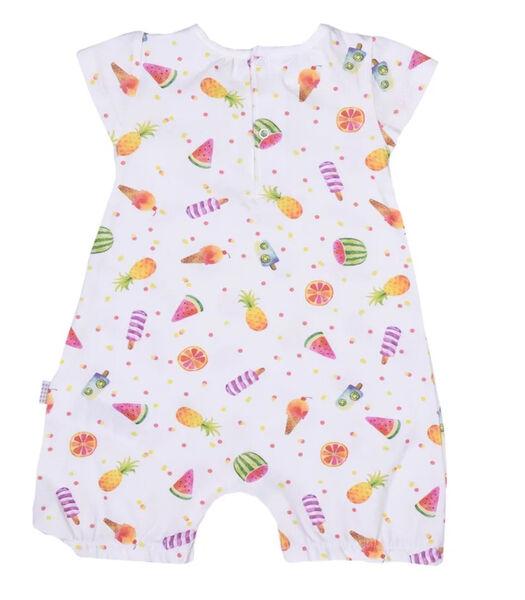 Biologisch katoenen baby pakje voor meisjes, Fruit