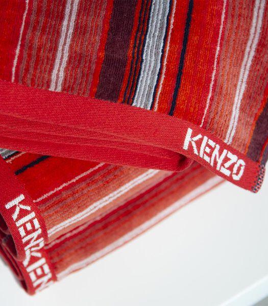 K Brush - Serviette de bain Velours de coton 450 g/m²
