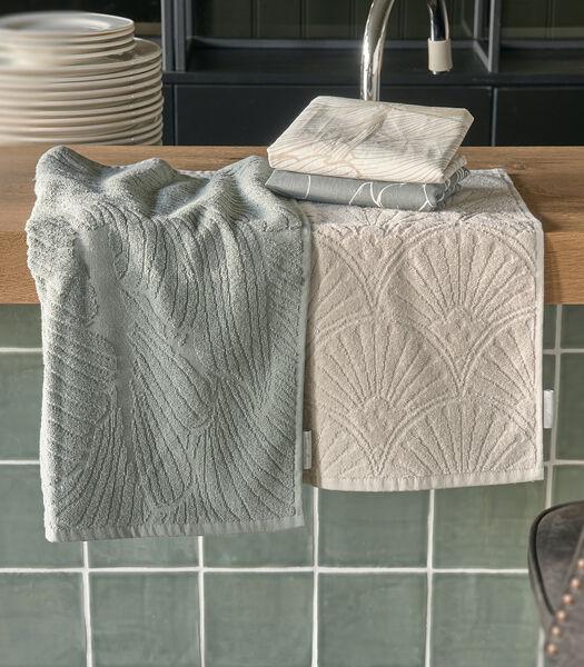 Les Fleurs Kitchen Towel 2 pieces