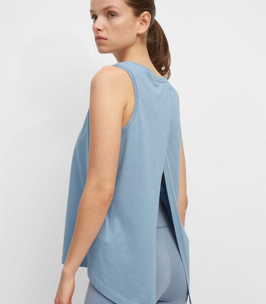 Yoga-top van light organic cotton-jersey