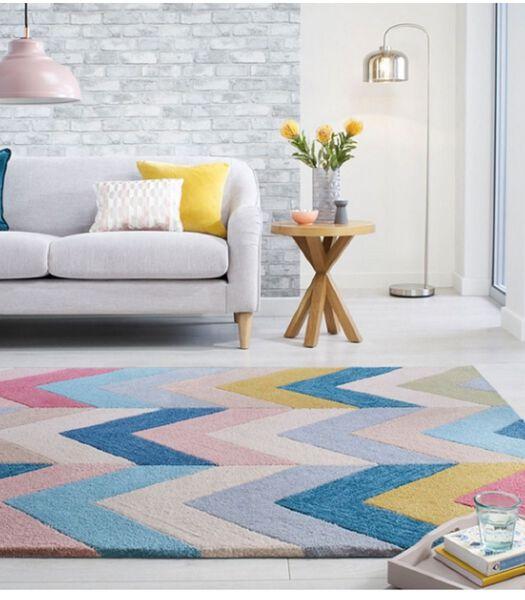 Moderne woonkamer tapijt RAINBOW  60x230 cm
