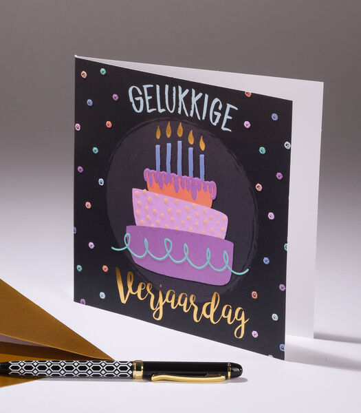 Dubbele kaart Sweetness gecreeërd in België en
