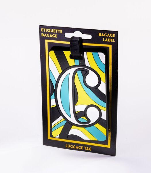 Bagagelabel - Letter C