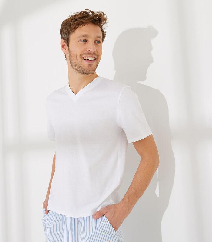 Essentiel - Homewear T-shirt met korte mouwen katoen image number 0
