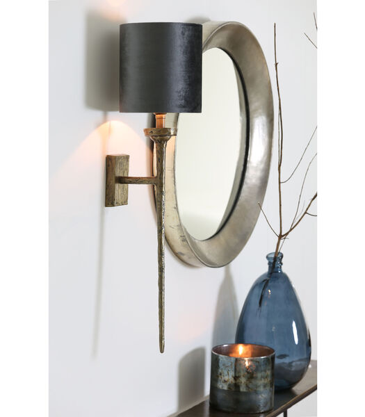 Applique Torche - Antique Bronze - 21x9,5x75 cm