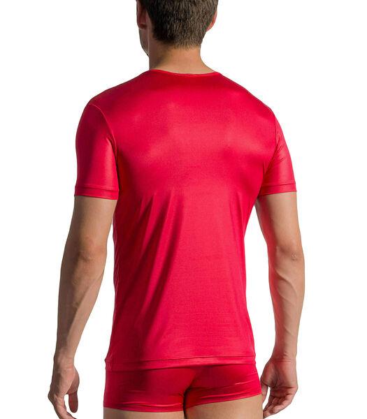 V-hals T-shirt met korte mouwen RED 1763