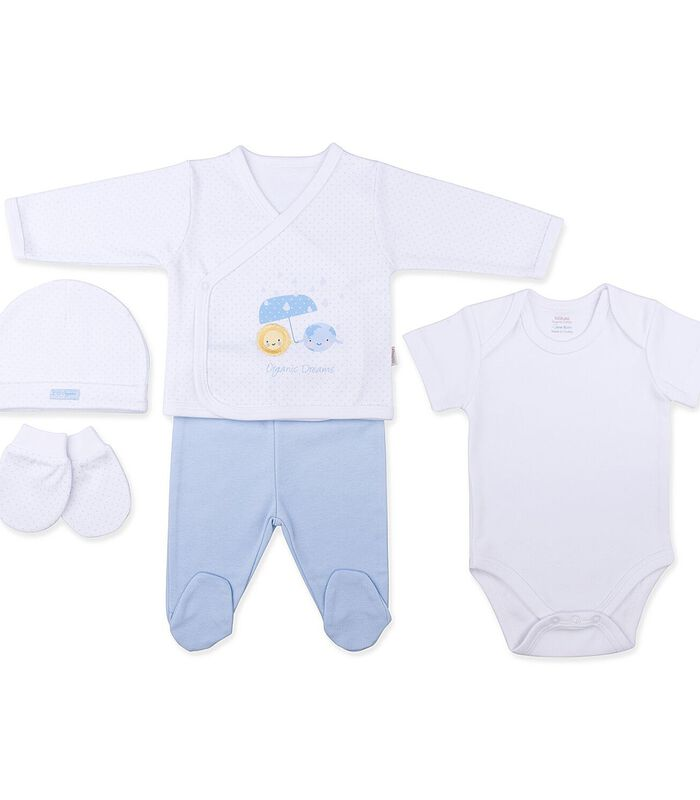Biologisch katoenen baby kleertjes set, DREAMS image number 0