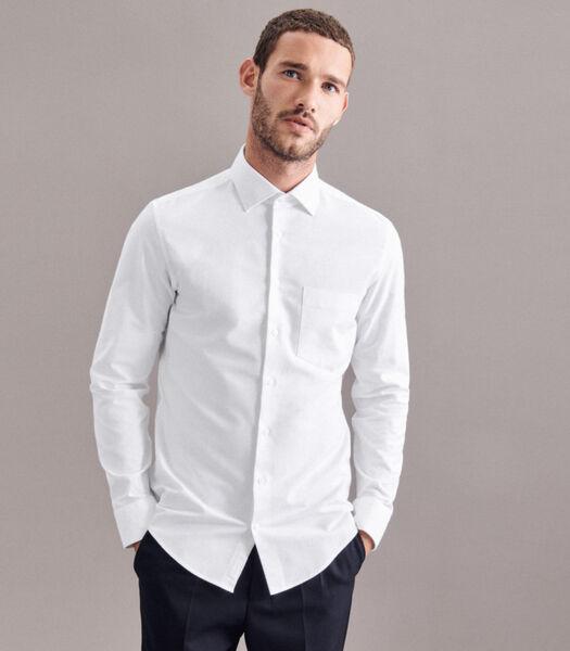 Oxfordhemd Slim Fit Lange mouwen Uni