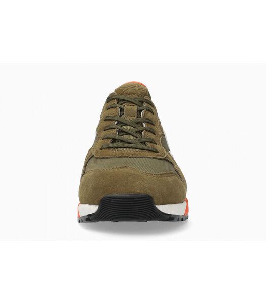 SPEED-Sneakers leer / textiel