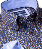 Hemd met fris abstract motief image number 3