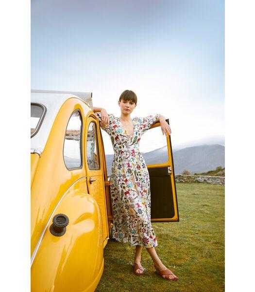 Boheemse print jurk JAIPUR