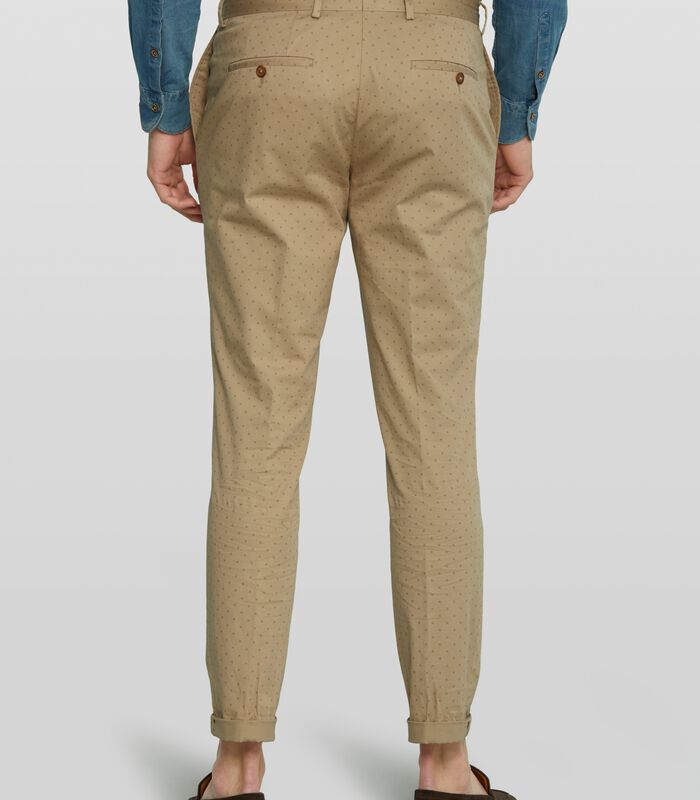 Geprinte chino Bailey image number 1